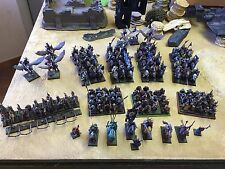 Warhammer Armée Bretonnie / Army Bretonnian .Entièrement Peinte