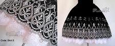 Elegant Gothic Sweet Lolita Ruffled Skirt #5