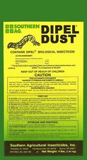 DIPEL DUST 4lbs. (BT) Biological Insecticide KILLS WORMS ON VEGETABLES & PLANTS