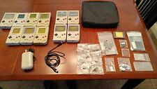 Huge DMG-01 Nintendo Game Boy Lot/ 4 working & 7 for parts / + tons of new parts