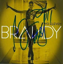 Brandy signed Two Eleven cd