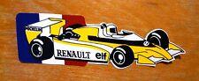 Formula 1 Renault Turbo Elf Race Motorsport Sticker / Decal