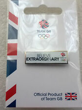 RIO 2016 OLYMPICS TEAM GB PIN BADGE 'BELIEVE IN EXTRAORDINARY' LONDON 2012
