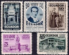 Ecuador 1954 Saint Miguel Cordero Religion Christian School Teacher Writer MNH
