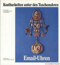 Fachbuch Email Uhren Taschenuhren mit Emailmalerei NEU, STATT 50 Euro, Leinen