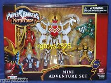 "Power Rangers Mystic Force 6"" STEEDERGON FURY MEGAZORD Mini Set New"