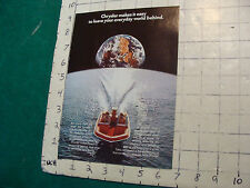 Vintage CLEAN Boat BROCHURE/ Catalog: CHRYSLER 1973 engines etc.