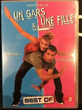 DVD - Comme neuf - UN GARS, UNE FILLE - BEST OF-Zone 2 -