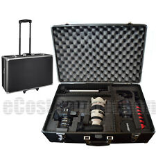 Large Hard Camera Equipment Case w/ Wheels for Canon C300 C500 4K XH-A1s