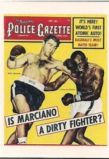 """ROCKY MARCIANO BOXING SPORTS IMMORTALS KITCHEN SINK 1993 (3"""" x 4"""") CARD #32 NM"""