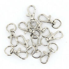 Hot 10Pcs Lobster Clasps Swivel Trigger Clips Snap Hooks Bag Key Ring