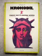 FB KROKODIL Antologia Cinquant'anni di umorismo sovietico 1979 Fumetti URSS