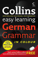 Collins Easy Learning German Grammar (Paperback) New Book