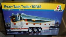 3731 Heavy Tank Trailer Topas  ITALERI 1:24 plastic TRUCK model kit