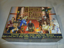 COMPLETE IN BOX HUNTING PARTY BOARD GAME SEABORN GAMES CIB GERMAN STRATEGY
