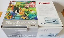 CANON PowerShot A400 3.2MP Photo & Video Digital CAMERA With Zoom Lens - Silver