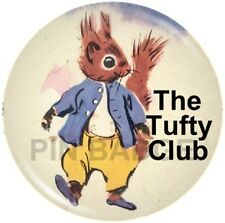 Tufty Club Pin Badge Retro Vintage Nostalgia NEW