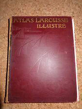 Atlas Larousse Illustré - Paris - Jugendstil  um 1900