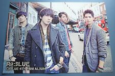CNBLUE  Re:Blue 4th Mini OFFICIAL POSTER *HARD TUBE CASE*