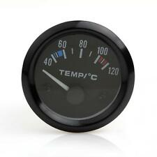 2 Inch DC12V Car Pointer Water Temperature Temp Gauge 40 - 120 Celsius White LED