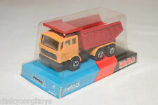 LITTELTOIS EFSI MERCEDES TRUCK KIPPER TIPPER YELLOW RED MINT BOXED RARE SELTEN.