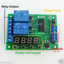 DC 12V Multi-function Digital Delay Time Cycle Timer Timing Relay Switch Module
