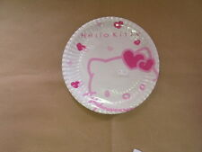 HELLO KITTY - PIATTI IN CARTA - DIAM. 23cm - 10 PZ