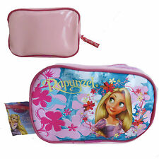 Official Disney Princess Rapunzel Tangled Pink Pencil Case Pouch Cosmetic Bag