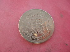 NOTTINGHAM FORST F.A. CUP CENTENARY 1872-1972  SILVER COLOURED MEDAL TOKEN COIN