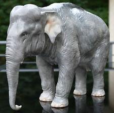 """Nymphenburg Figur """" Elefant Rüssel abwärts """" , sammelwürdig , Topzustand !!!"""