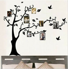 Home Removable Black Tree Photo Frame Wall Sticker House Room Decal Decor New