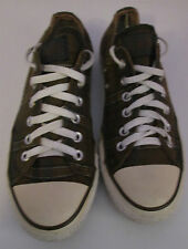 VTG Unisex Chuck Taylor CONVERSE Brown Checked Lo Trainer/Shoe Size 6