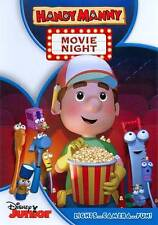 DISNEY JR HANDY MANNY:MOVIE NIGHT LIGHTS CAMERA FUN DVD NEW