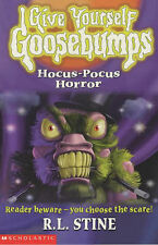 Give Yourself Goosebumps 35 Hocus Pocus Horror-ExLibrary