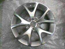 """Vauxhall Corsa D 18 """"VXR RUOTE IN LEGA X 4 IN ARGENTO NUOVO"""