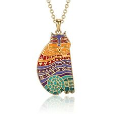 Laurel Burch Gold Rainbow Cat Necklace 5027 $48.00/Each