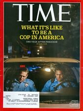 2015 Time Magazine: What it's Like to be a Cop in America 1 Year After Ferguson