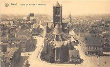 BG25860 eglise st nicolas et panorama  gent   gand  belgium 1 2