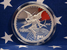 2015 Silverbug Fairy Uncirculated 1oz Troy .999 Fine Solid Silver Capsule Coin