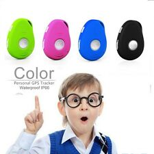 Worlds Smallest GPS Tracking Device For People kids Child Locator Two way Talk