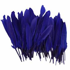 Wholesale 100Pcs Beautiful Natural Goose Feathers 4-6'' / 10-15cm DIY Decoration