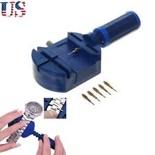 Hot US Watch Jewelry Bracelet Link Remover with 5 Pins Repair Tools Set New Chic