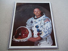 Neil Armstrong Nice Autographed Apollo Photo