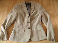 ESPRIT collection chicer kurzer Blazer beige Gr. 34 TOP 516
