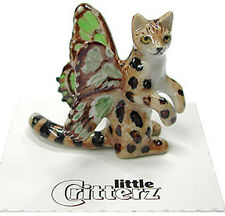 ➸ LITTLE CRITTERZ Fantasy Miniature Figurine Pixie Fairy Cat with Wings