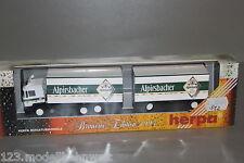 """Herpa MAN 24-372 Kofferlastzug """"Alpirsbacher"""" Brauerei Edition 1:87 Spur H0 OVP"""