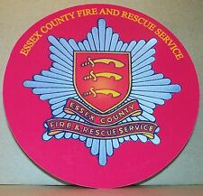 Fire and Rescue Service Essex County vinyl sticker personalised..