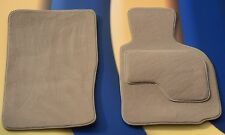 BMW Z4 E85 / E86 PREMIER CARPET BEIGE CAR FLOOR MATS WITH VELCRO PADS