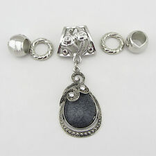 Fashion DIY Necklace Jewelry Scarf  Drops  pendant set Charms @+4