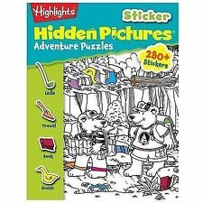 Sticker Hidden Pictures® Ser.: Hidden Pictures Adventure Puzzles by...